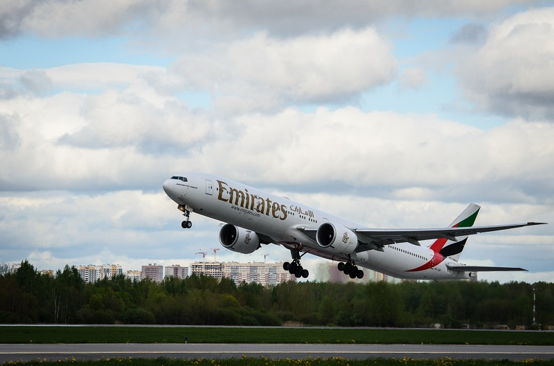 Emirates Amends Schedule from Pulkovo Airport to Accommodate More