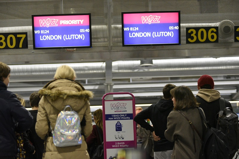 Wizz Air Launched Direct Flights From Pulkovo St Petersburg Airport To London