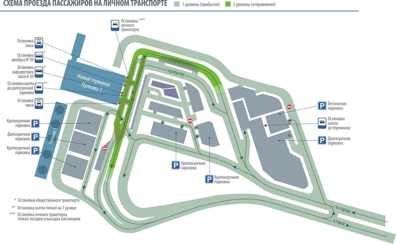 Пулково терминал 1 схема проезда