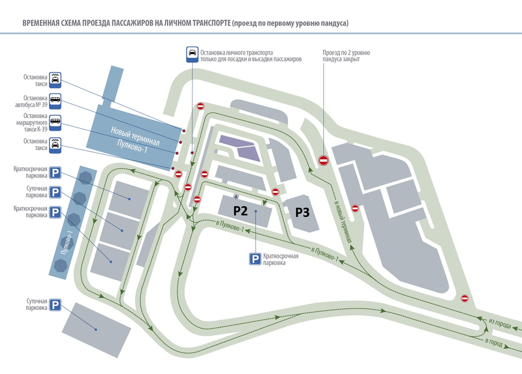 Notification Message Domestic Flights Transfer to Pulkovo New