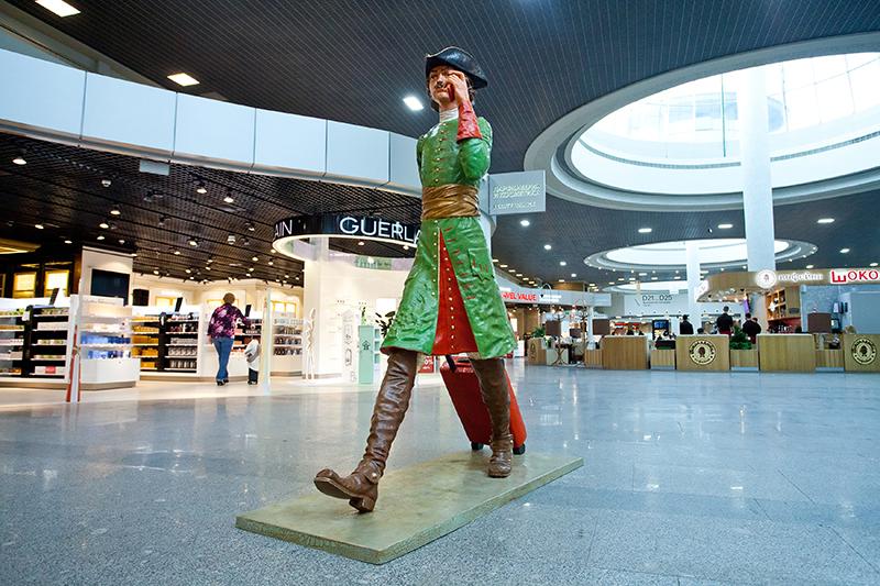 В аэропорту Пулково появился